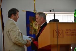 Олександр Зайцев нещодавно захистив дисертацію і йому було присвоєно звання доктора історичних наук