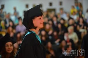 Слово від випускників-магістрів виголосила Христина Бондарєва