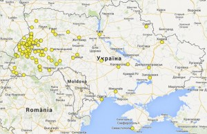 """Карта вступників в УКУ. спеціальність """"Історія"""""""