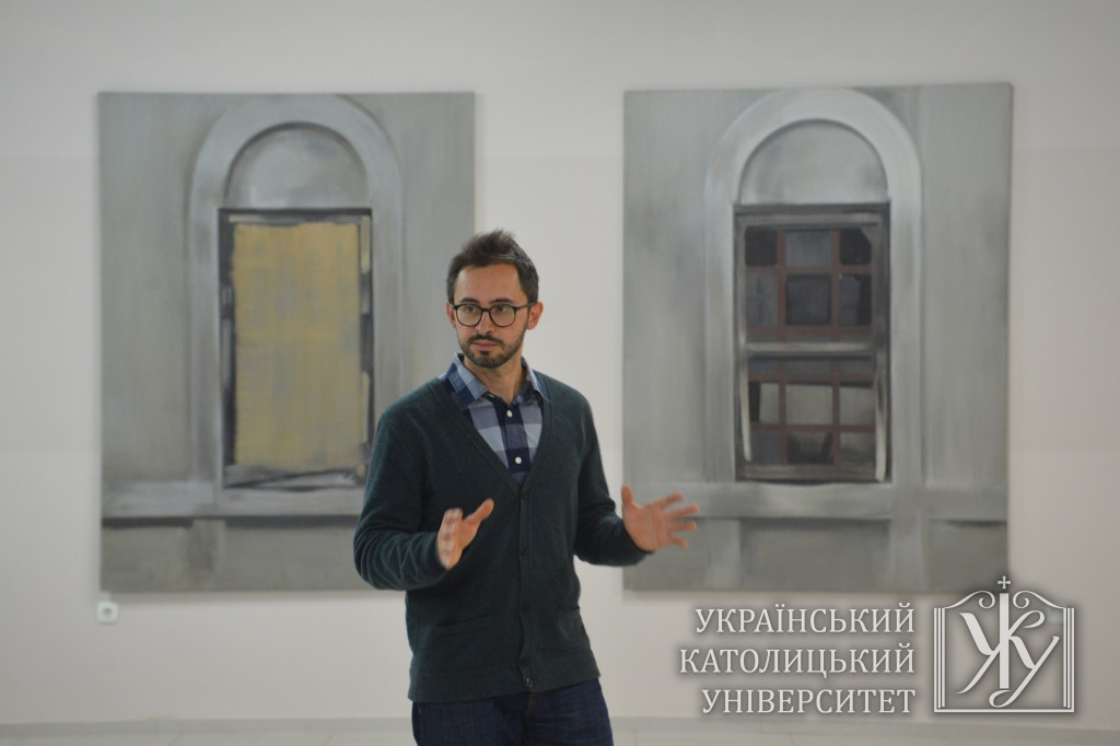 "Куратор ""Я Галерея"" Павло Гудімов"