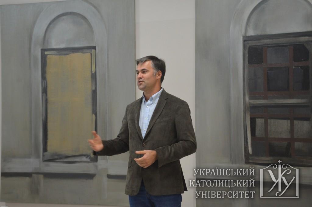 Куратор Галереї сучасного мистецтва УКУ Андрій Курочка