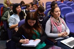 """В дискусії брали участь не лише експерти, але й студенти Школи журналістики УКУ та учасники ІІ Школи громадської активності """"MediaStream"""""""