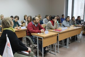 Учасники тренігу - предстаники громадського сектору, місцевого самоврядування та громадських організацій