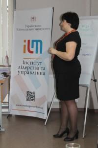 Ярина Ключковська - тренер з комунікації з понад 20 літнім досвідом роботи