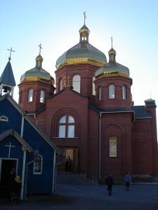 Церква Покрову Пресвятої Богородиці (УГКЦ) в Караганді, де настоятелем є о. Василь Говера