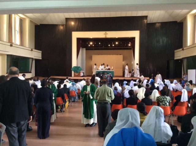 Літургія перед початком Генеральної Асамблеї АКБІ