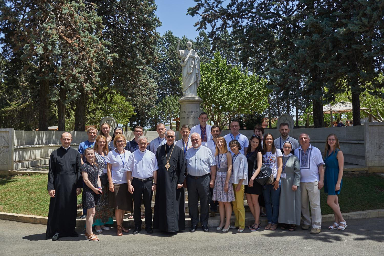 Учасники Літньої школи 8-16 липня 2017 року у Римі. Фото Олександра Ласкіна