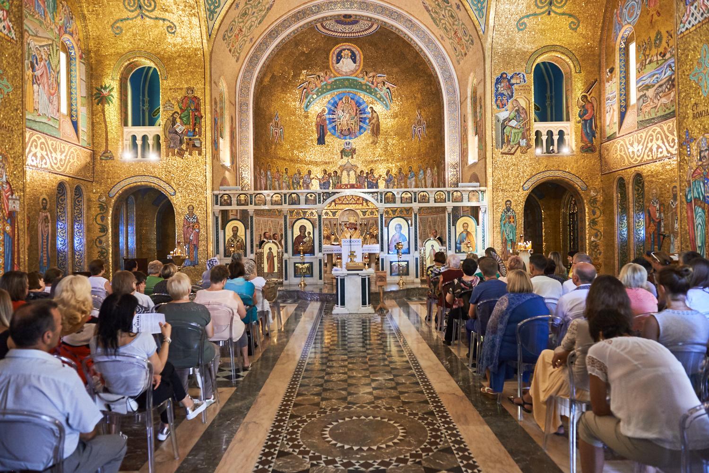 Конференція в соборі св. Софії в Римі. Фото О.Ласкіна