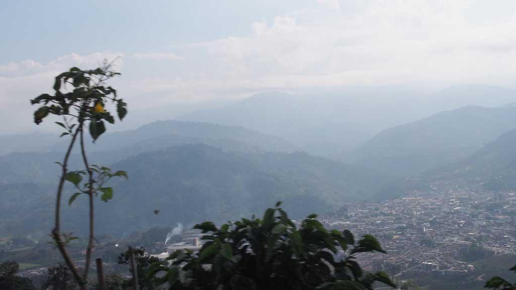 Maisemaa Kolumbiasta