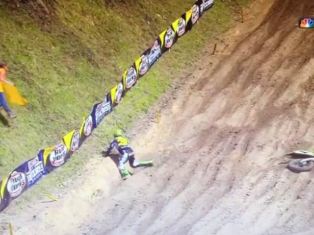 ELI TOMAC BIG CRASH AMA MOTOCROSS SPRING CREEK 2017