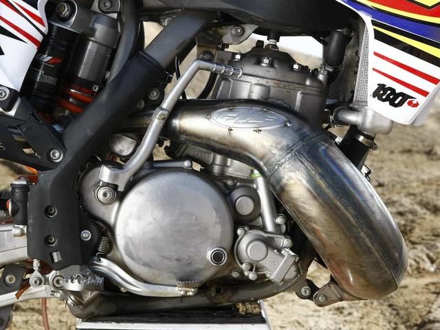 MXA TWO-STROKE FILES: WE RIDE FMF'S KX500/KTM 250SX HYBRID