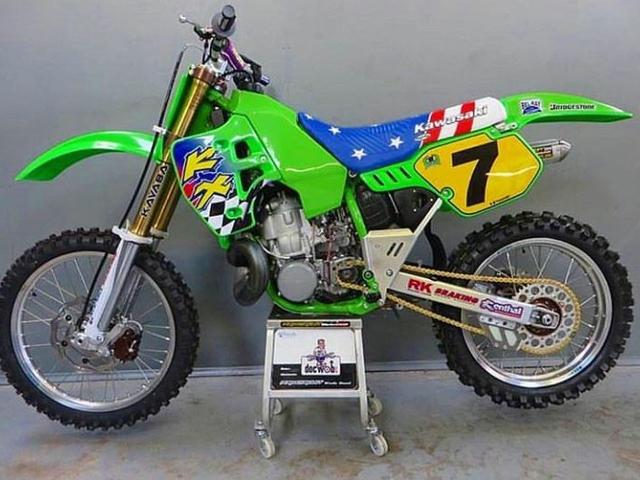 KX 500 REPLICA JEFF EMIG MXDN JEREZ 1996