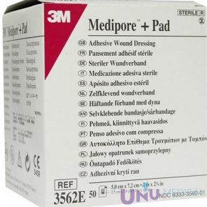 Pansament textil 3M - MEDIPORE + PAD 3562