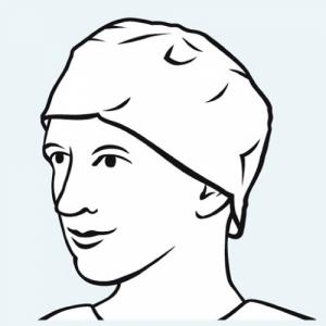 bonete chirurgicale rotunde