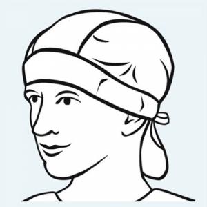 bonete chirurgicale unica folosinta confort bandana