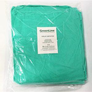 halat de protectie verde