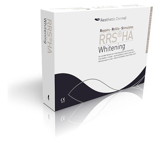 Solutie pentru depigmentarea pielii RRS HA Whitening cutie prezentare
