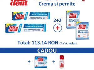 pachet îngrijire proteze dentare