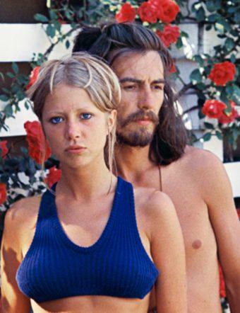Pattie Boyd & George Harrison.