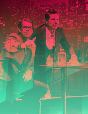 Alex & Sigge Live. Alex Schulman och Sigge Eklund.