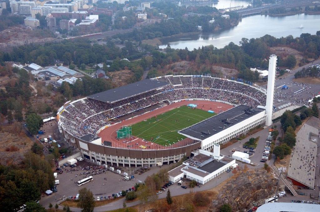 Urheilumuseon näyttely Helsingin Olympiastadion 1938‒2008