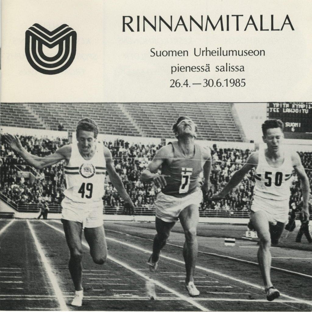 Urheilumuseon julkaisusarja: Rinnanmitalla