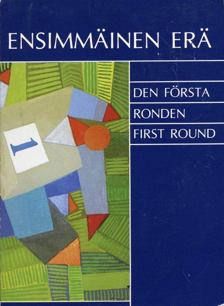 Urheilumuseosäätiön julkaisusarja: Ensimmäinen erä. Urheilu- ja liikunta-aiheista kuvataidetta 8.5.-31.5.1987