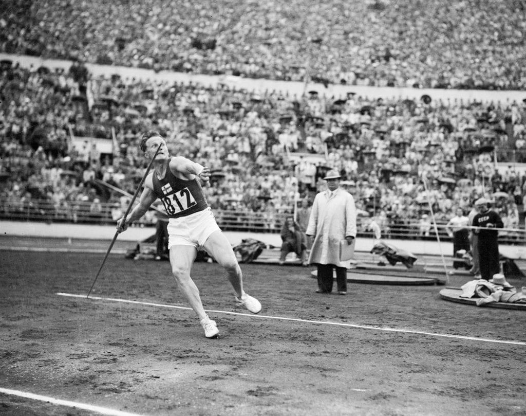 Toivo Hyytiäinen Helsingin olympialaisissa 1952
