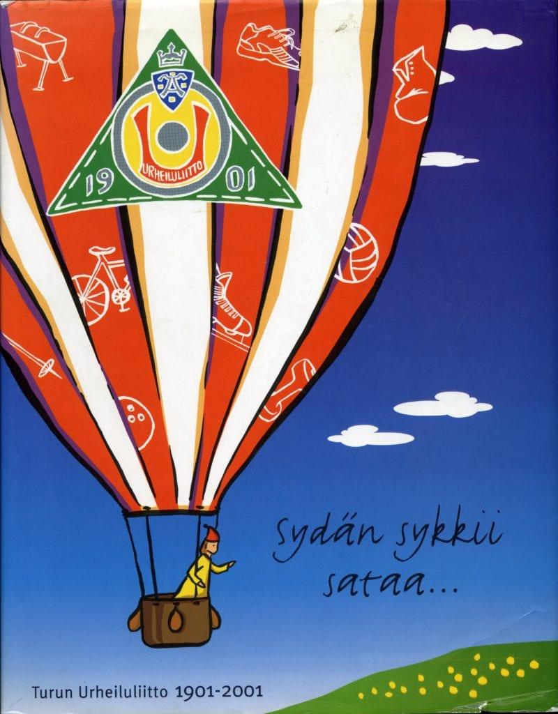 Vuoden urheilukirja 2001 Sydän sykkii sataa : Turun Urheiluliitto 1901-2001, Urheilumuseo