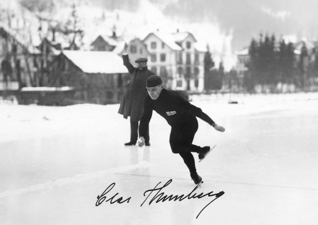 Suomen Urheilun Hall of Fame Clas Thunberg Urheilumuseo