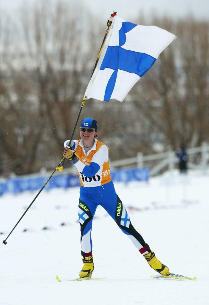Suomen urheilun Hall of Fame Tanja Kari © Suomen Paralympiakomitea Foto: Jonas Ekstršmer Copyright Pressens Bild