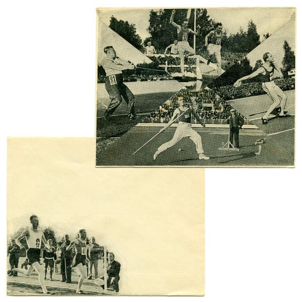 Helsinki Olympic Games 1940 Envelope The Sports Museum of Finland