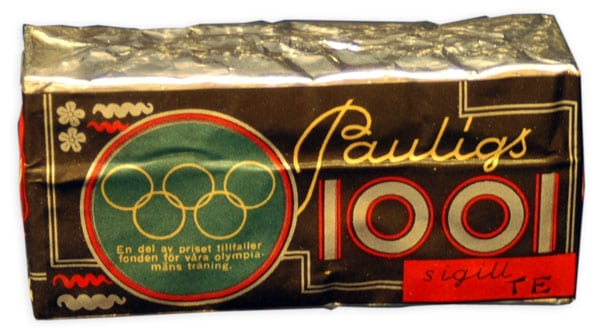Helsinki Olympic Games 1952 Olympic tea package The Sports Museum of Finland