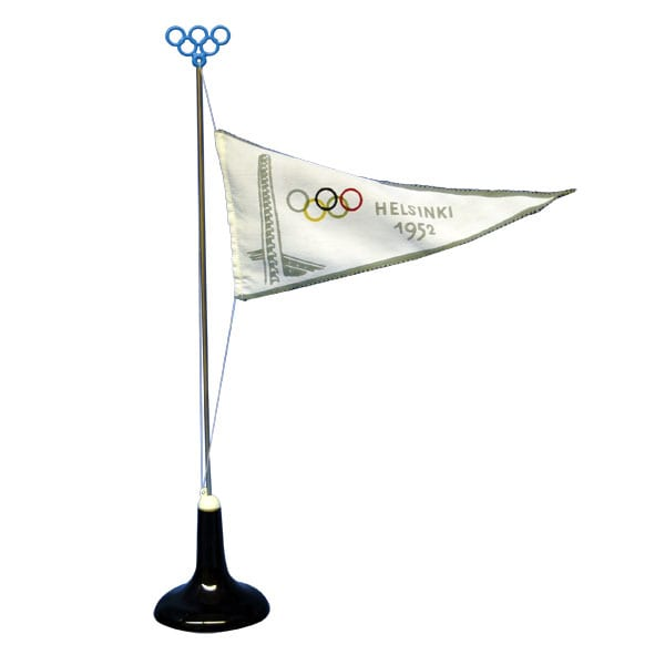 Helsinki Olympic Games 1952 Miniature pennant The Sports Museum of Finland