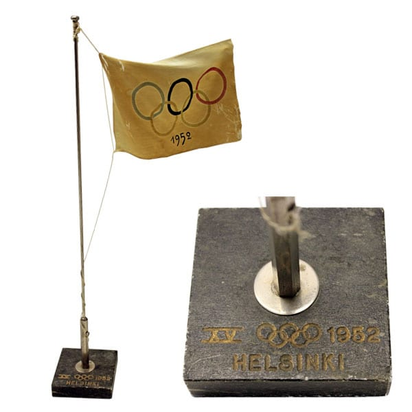 Helsinki Olympic Games 1952 Table pennant The Sports Museum of Finland