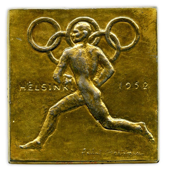 Olympic commemorative medal
