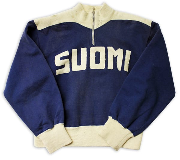 Helsinki Olympic Games 1952 Sweatsuit The Sports Museum of Finland