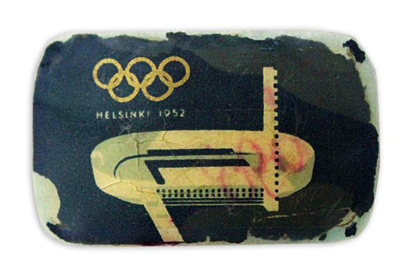 Helsinki Olympic Games 1952 Belt buckle decoration The Sports Museum of Finland