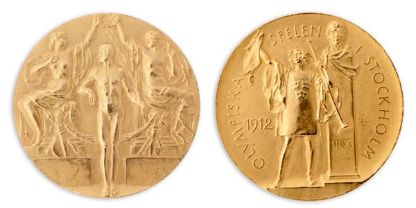 Stocholm-1912_Olympic gold medal