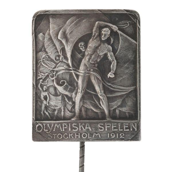 Stockholm-1912_Official tourist badge