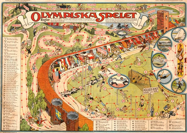 Stockholm-1912_Olympic board game