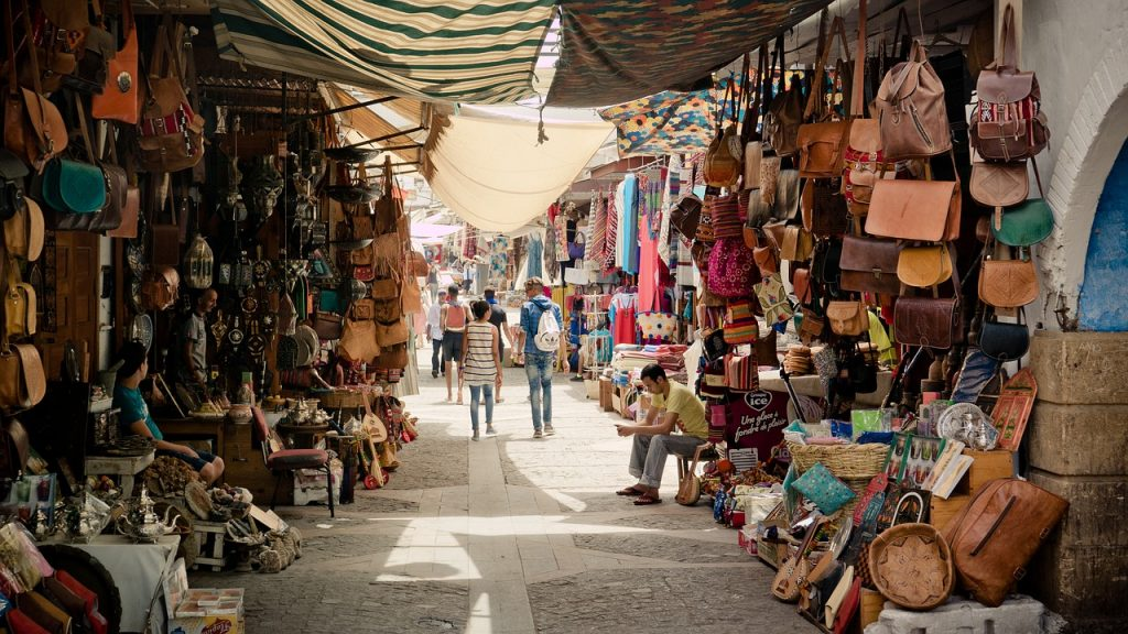 Marokkó piac