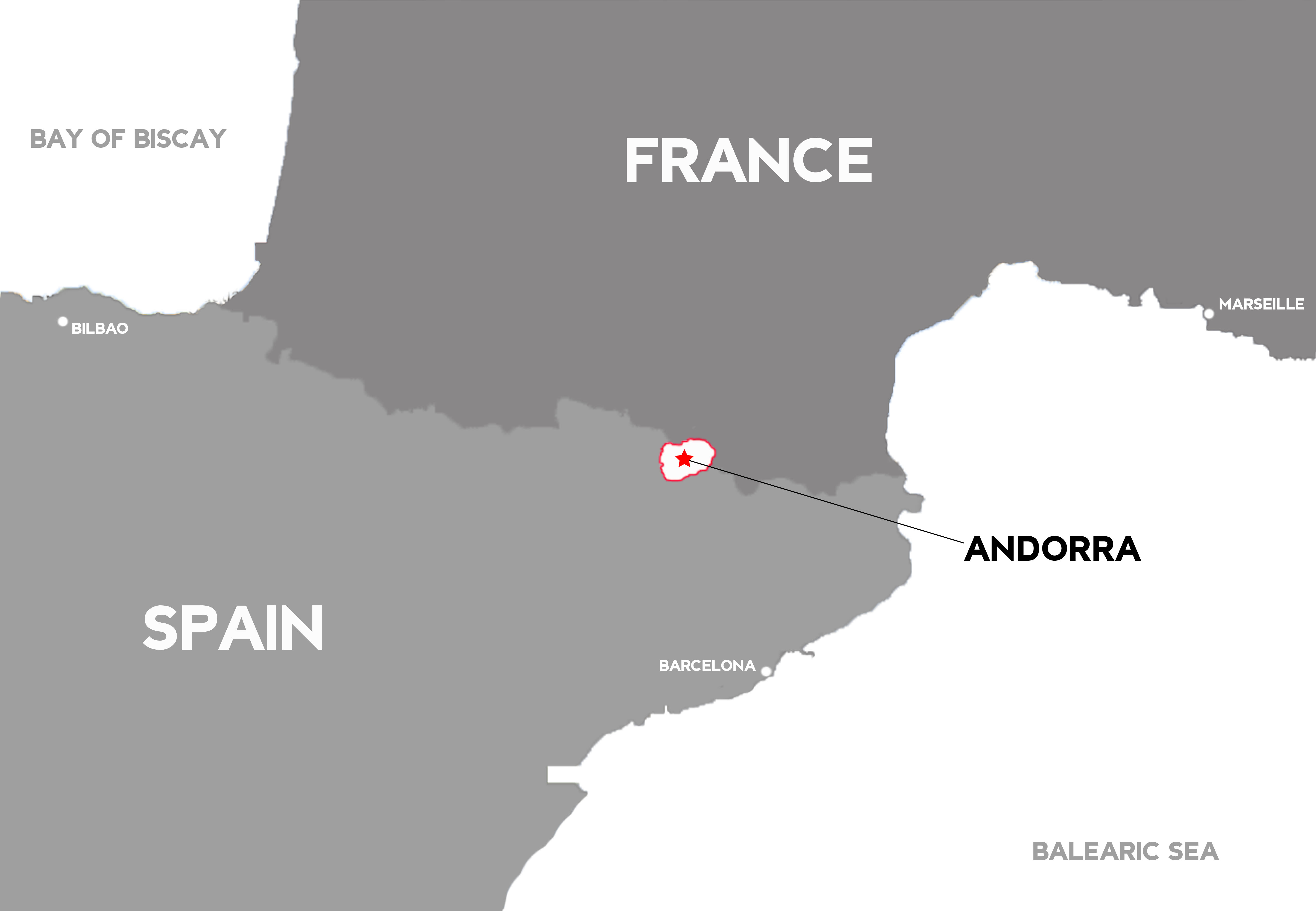 Map Of Spain France And Andorra.Spartan Spain Obstacle Course Races Why Andorra