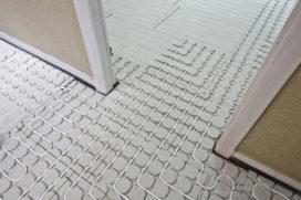 Vloerverwarming voor renovatie met houten vloeren