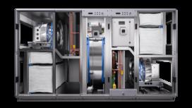 WTW-unit met geïntegreerde warmtepomp