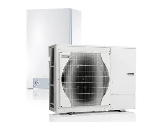 All electric-warmtepompen voor woningbouw