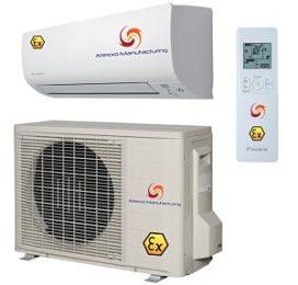 Explosieveilige ATEX Zone 2 Airconditioners / Warmtepompen