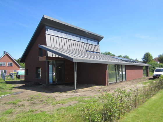 Energieleverende woning in Veldhoven