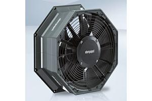 Axiaal ventilator speciaal voor warmtepomp