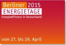 Up-to-date energie-informatie op de Berlijnse Energiedagen